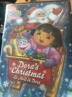 Dora the Explorer - Doras Christmas (DVD, 2009, Canadian French)
