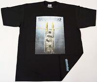 STREETWISE RINSE T-shirt Urban Streetwear Tee Adult Men L-4XL Black New