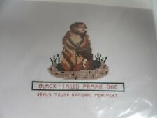 """Posy Collection Heritage Series Cross Stitch Kit Black Tailed Prairie Dog 5.5"""""""