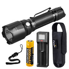Fenix TK22 v2.0 1600 Lumen Tactical Flashlight + 5000mAh Battery and Charger