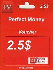 PERFECT MONEY | KOD | VOUCHER | USD 2.5$ | TOP SPRZEDAWCA | TANIO !