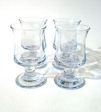 70s 4x Holmegaard Rotwein Glas Skibsglas set red wine glass Per Lütken annees 70