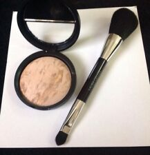 Laura Geller Baked Balance N Brighten Foundation MEDIUM & BLUSHER Brush!