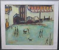 LS Lowry Genuine French Equivalent Oil Serge Desfarges Industrial