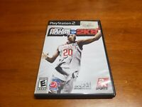College Hoops 2K8 (Sony PlayStation 2) PS2 CIB Complete TESTED FAST SHIPPING