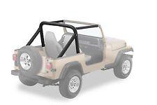 1987-1991 Jeep Wrangler Bestop Sport Bar Cover Roll Cage Pad Kit Black Denim