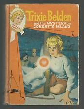 Trixie Belden  MYSTERY ON COBBETT'S ISLAND  1st edition  Cameo Cover 1964 EX++