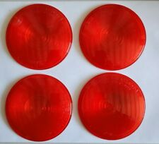PETERSON Flush Mount Red Lenses 410-15R (4 pcs.)SAE-IST-75 DOT