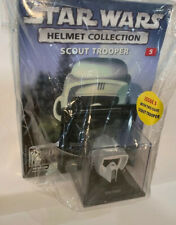 STAR WARS Vintage HELMET COLLECTION ISSUE 5 SCOUT TROOPER & MAG Figure Head