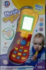 Baby Child Educational Learning Mobile Phone Toy Musical Playing 5 function 12M+