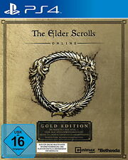 PS4 The Elder Scrolls Online Gold Edition *Neu & OVP* inkl. allen DLCs