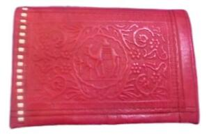 Handcrafted Moroccan leather Purse Men wallet
