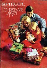 1971 SPIEGEL  CHRISTMAS BOOK Catalog  '71 SPIEGELS  WISHBOOK