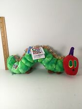 """The World of Eric Carle Very Hungry Caterpillar plush 16"""" With Tags"""