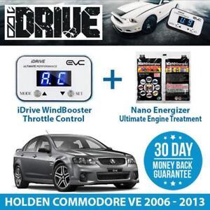IDRIVE THROTTLE CONTROL FOR HOLDEN COMMODORE VE 2006 - 2013 + NANO ENERGIZER AIO
