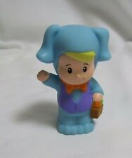 New Fisher Price Little People EASTER BUNNY BOY COSTUME BASKET HOLIDAY Eddie #3