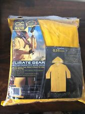 New Climate Gear~PVC Garment Material Trench Coat~2 piece Weather Resistant L