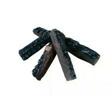 4 Pcs Wood-like decorative Ceramic Logs for fireplaces,stoves,Burner,gas firepit