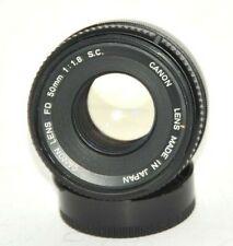 Canon Lens FD  1,8/50mm  S.C.