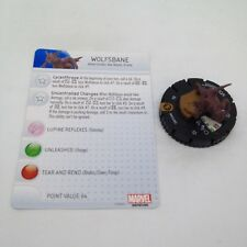 Heroclix Monthly OP Kit Wolfsbane #M15-002 Limited Edition w/card! Team Base