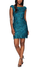 LAUREN Ralph Lauren Raydonna Cap Sleeve Day Dress MSRP $180 Size 16 # 8A 110 N