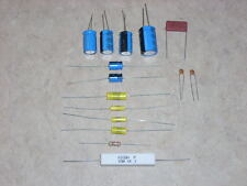 ROCKOLA JUKEBOX  AMP CAP CAPACITOR REBUILD KIT FOR  MODELS 1422 AND 1426