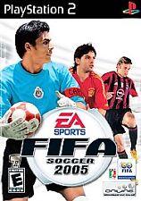 FIFA Soccer 2005 (Sony PlayStation 2, 2004) w/ Manual