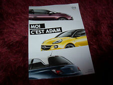 Catalogue / Brochure OPEL Adam 2012 //