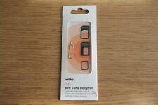 Wilko 3-in-1 Sim Card Adaptor Pack