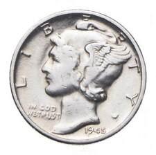 CHOICE - 1945-D Mercury Dime - Mint Marked - TOUGH Coin! *898