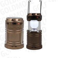 LUZ LINTERNA LAMPARA PORTATIL DE 6 LED RECARGABLE PARA CASA EMERGENCIA CAMPING