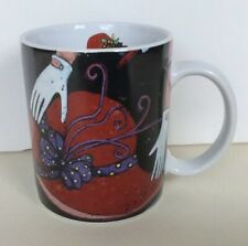 Lang & Wise Ceramic Mug Red Hats By Susan Winget 2004