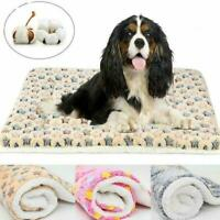 Pet Bed Mattress Dog Cushion Pillow Mat Washable Soft Warm Winter Blanket F0M5
