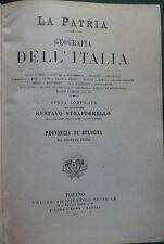 """STRAFFORELLO-LA PATRIA.""""EMILIA,BOLOGNA,RAVENNA,FERRARA,FORLI',S.MARINO""""UTET1902."""