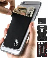 The Gecko Adhesive Card Wallet for Cell Phones, Ultra Slim & Custom Designed ...
