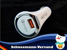 Auto KFZ USB Ladegerät Adapter 12V 24V Handy Lader Schnelllader  3.6A ios Kabel