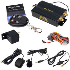 GPS Tracker Tracking Car Auto With Remote Control GSM Alarm Anti-theft TK10103B