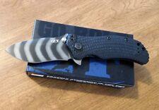ZERO TOLERANCE New Strider Onion Tactical Fldr Tiger Stripe S30V Bl Knife/Knives