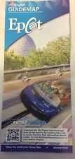 05/2015 Walt Disney World Epcot Park Guide Map - English Brochure Test Track