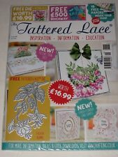 "TATTERED LACE MAGAZINE #48 ""FUCHSIA BLOOMS"" DIE (INCLUDES FREE DIE & PAPERS)"