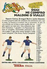 X2621 Tonka - Forza Campioni - Mi compro Vialli - Pubblicità 1990 - Advertising