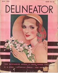 1931 Delineator May - Lost Dog; Wisdom of the Desert; Playthings for Children