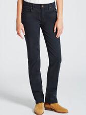 Ladies R.M Williams Kimberley Navy Straight Leg Stretch Jeans Size 31/32