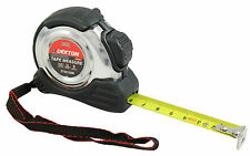 5m 16ft Metric Only Ultra Tough Pocket Tape Measure Stainless Steel Retractable