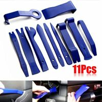 11Pcs Car Panel Removal Tool Trim Panel Clip Speaker Disassemble Open Pry