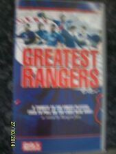 THE GREATEST RANGERS EVER VHS Video Daily Record Voted by Fans Football