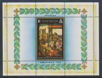 Grenada - 1972, Christmas (1971) sheet - MNH - SG MS473
