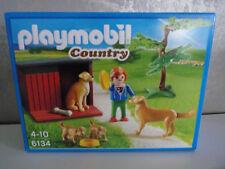Playmobil Country 6134 Golden Retriever AVEC CHIOTS - Neuf et emballage