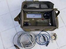 Detector de radiación militar de trabajo M/75 danés contador Geiger detector gamma