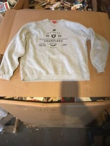 New NFL SUPER BOWL XXXVII Raiders 2002 AFC Champions Stadium Collection L